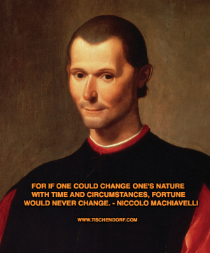 ... Machiavelli The Prince Trading Quotes Adapt Adapting Losing Fortune