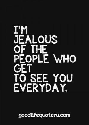jealous is an understatement.