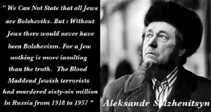 Solzhenitsyn quote.