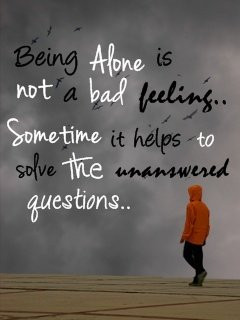 Being Alone Mobile Wallpaper