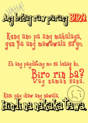 Quotes Tagalog Nakakatawa. QuotesGram