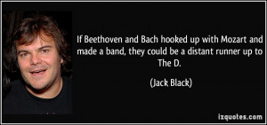 If Beethoven and Bach hooked up with Mozart and made a band, they ...