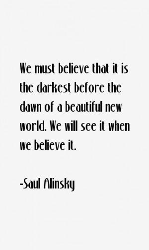 Saul Alinsky Quotes & Sayings