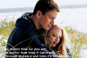 dear john, distance, love, quote