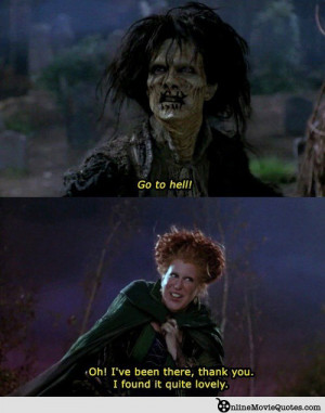 ... Midler and Sarah Jessica Parker star in the 1993 film Hocus Pocus