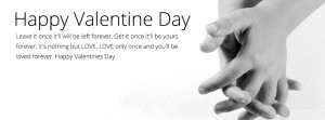 New Valentines Day Facebook Cover 2014 with Romantic Love Quotes