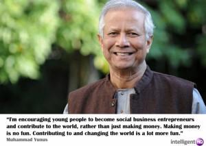Quote by Muhammad Yunus