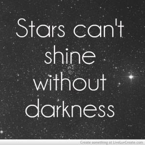 cute, love, pretty, quote, quotes, stars cant shine