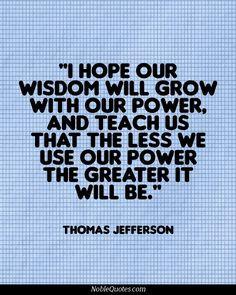 Thomas Jefferson Quotes | http://noblequotes.com/