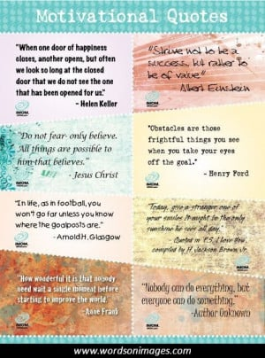 Motivational quotes using candy