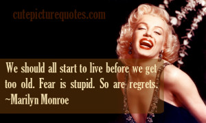 cute marilyn monroe quotes