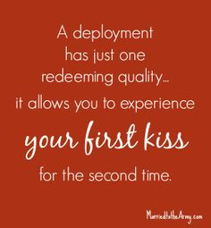 deployment has just one redeeming quality...it allows you to ...