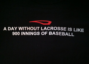 Lacrosse Quotes Tumblr Baseball is about as fun as