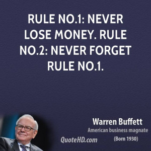 Warren Buffett Money Quotes