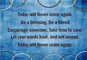 Be a blessing be a friend sayings image quotes
