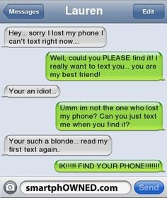 is so funny!! Not to be critical, but the girl who said she was dumb ...