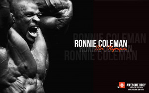 Ronnie Coleman Poster | Mr Olympia HD Wallpapers | Bodybuilding Wall