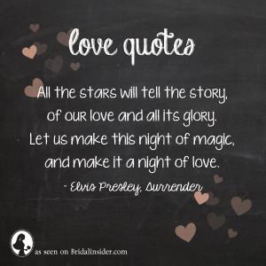 ... bridalinsider.com/love-quotes-from-rock-songs-elvis-presley-surrender
