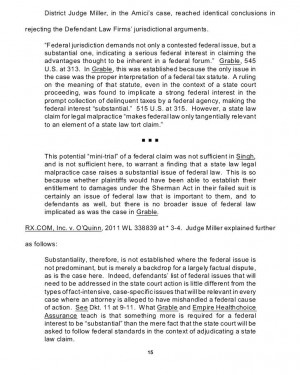 "The entire argument on the page is: ""Another judge said the same ..."