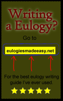 writing a eulogy for father The death of a beloved father is profound loss and represents an emotional time so take time to learn how to write a eulogy for a father.