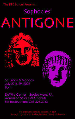 the crime of creons pride in antigone a play by sophocles Antigone (scene 5) sophocles album antigone antigone the only crime is pride scene v consists of creon, antigone's uncle and ruler.