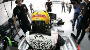 Lewis Hamilton in Korea © McLaren
