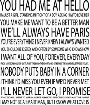 Famous Disney Movie Quotes .
