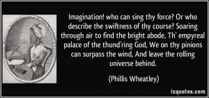 Phillis Wheatley Quotes Poems