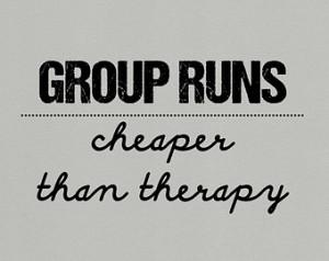Running group motivation quote gift for runner racer 5k 10k 1 mile ...