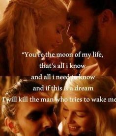 Game of Thrones. Love Quote. More
