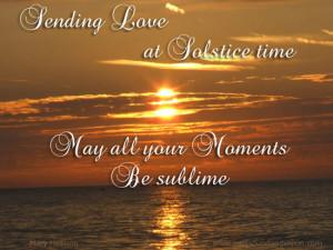 ... the manifestation of spirit choose your metaphor happy happy solstice