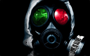 Alpha Coders Wallpaper Abyss Dark Gas Mask 204159