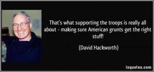 Col David Hackworth Quotes