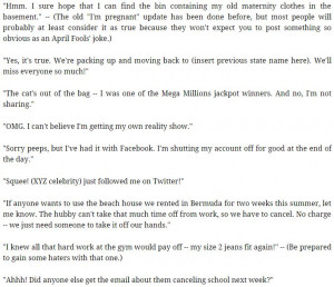 20+ April Fools Day Facebook Status-Tweets Pranks Jokes