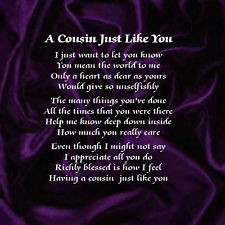 Cousin, Missing You Poem about Friends - Family Friend Poems.