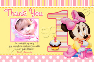 1st Birthday Thank You Sayings http://managedprintsolutions-online.com ...