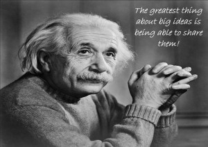 Albert Einstein Teaching Quotes Picture