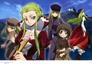 code geass the anime is awesome and c c is awesome i understand c c so ...