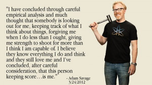 Adam Savage at the 2012 Reason Rally
