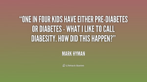 One in four kids have either pre-diabetes or diabetes - what I like to ...