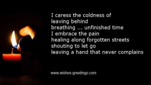 Caress The Codlness Of Leaving Behind Breathing, Unfinished Time I ...