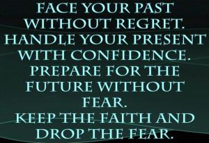 Past Present Future Regret Inspirational Quotes Motivational