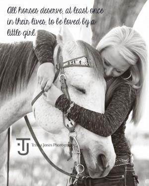 Girl and her Horse - KD's Senior Session