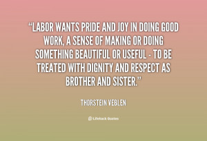 Dignity Of Work Quotes