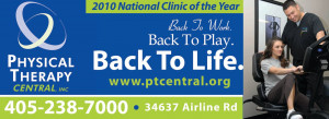 just printed this billboard for physical therapy central in pauls ...