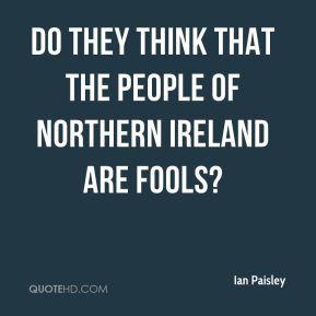 Northern Ireland Quotes