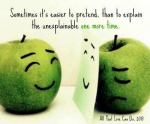 dying inside quotes | Just because I can smile doesn't mean I'm ...