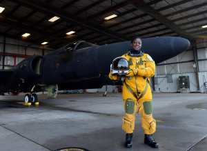 Air Force Base, Calif. Tengesdal is the only black female U-2 pilot ...