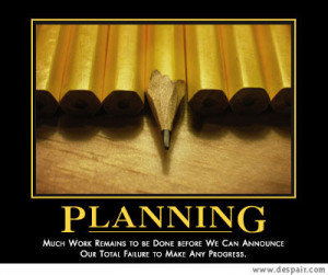 What I am planning these days: