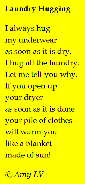 Poem #356 - Do You Hug Your Laundry?